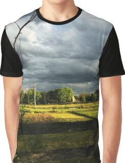 Fenced in Beauty Graphic T-Shirt