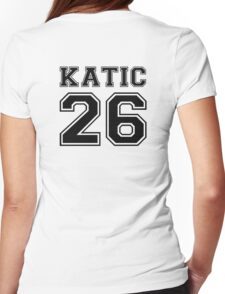 Katic #26 Womens Fitted T-Shirt