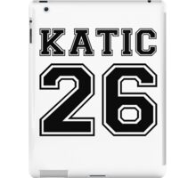 Katic #26 iPad Case/Skin