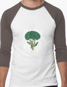 Broccoli  Men's Baseball ¾ T-Shirt