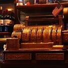Old Cash Register by Barbara  Brown