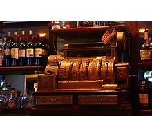 Old Cash Register Photographic Print