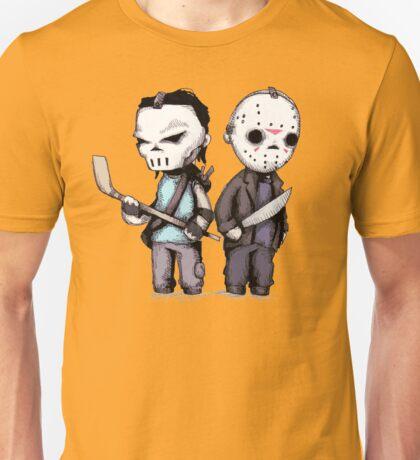 Hockey Mask Buddies Unisex T-Shirt