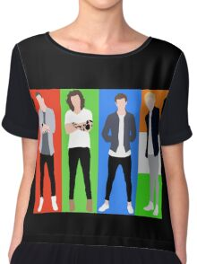 One Direction 5 Chiffon Top