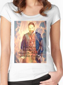Outlander/Murtagh/Someone to always have your back... Women's Fitted Scoop T-Shirt