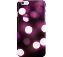 Magenta Light Bokeh iPhone Case/Skin
