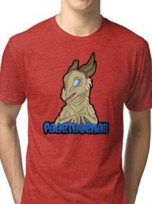 Paarthurnax Badge Tri-blend T-Shirt