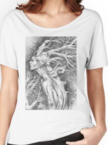 Tree Woman Women's Relaxed Fit T-Shirt