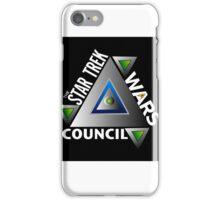 Star Trek Wars Council Logo iPhone Case/Skin