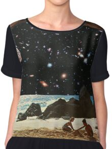 it's always sunny in space Chiffon Top