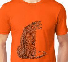 Sitting Leopard Unisex T-Shirt
