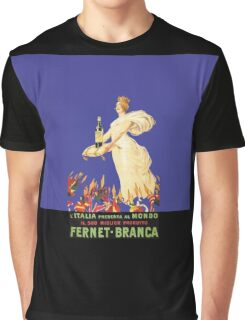 Branca Fernet Graphic T-Shirt