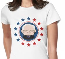 Backed by Populist Demand: Bernie Sanders 2.0 Womens Fitted T-Shirt