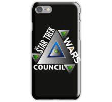Star Trek Wars Council Transparent Back Ground iPhone Case/Skin