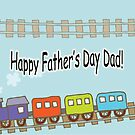 Happy Father's Day Train by Susan S. Kline