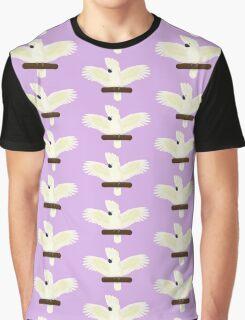 Umbrella Cockatoo Graphic T-Shirt
