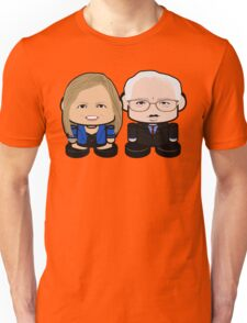 Sanders: Greater Together Politico'bot Toy Robots Unisex T-Shirt