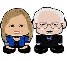Sanders: Greater Together Politico'bot Toy Robots Photographic Print