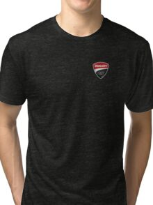 Ducati Corse Shield Logo Tri-blend T-Shirt