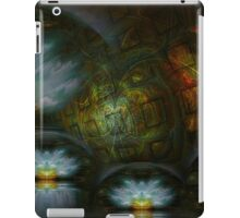 Abandon The Chaos Grid iPad Case/Skin