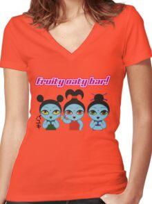 Fruity Oaty Bar! Shirt (Firefly/Serenity) Women's Fitted V-Neck T-Shirt