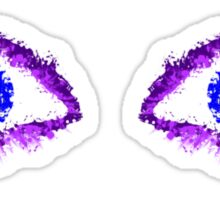 Ink Eyes Sticker