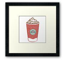 Starbucks - Latte  Framed Print