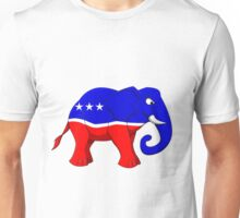 Republican Elephant Unisex T-Shirt