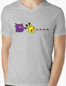 Pika Pika Pika Mens V-Neck T-Shirt
