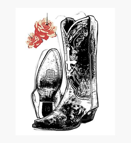 Wicked Boots Photographic Print