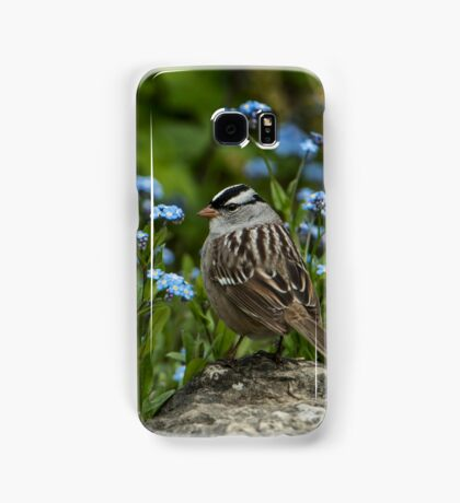 White Crowned Sparrow Samsung Galaxy Case/Skin