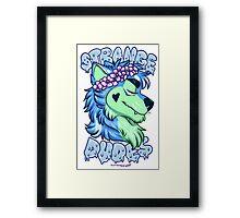 STRANGE DUDES- The Werewolf Framed Print