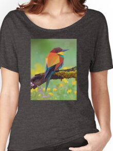 Bird Vector Painting Women's Relaxed Fit T-Shirt