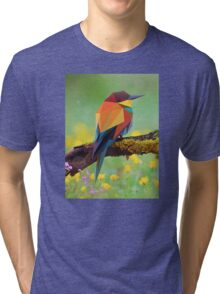 Bird Vector Painting Tri-blend T-Shirt