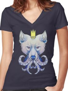 Wild Things Women's Fitted V-Neck T-Shirt
