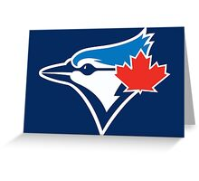toront blue jays Greeting Card