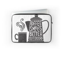 Coffee Smells Better Housse de laptop