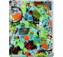 Food Fight Abstract iPad Case/Skin