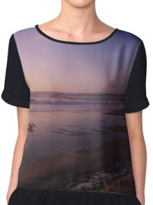 Sunset over the Sand Chiffon Top