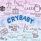 Cry Baby Original Artwork by Stephanie Storm