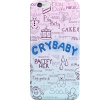 Cry Baby Original Artwork iPhone Case/Skin