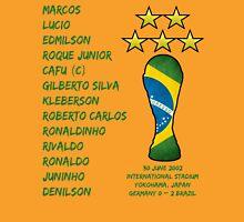 Brazil 2002 World Cup Final Winners Unisex T-Shirt