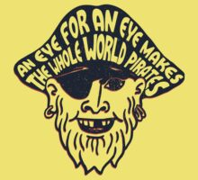 An Eye for an Eye One Piece - Short Sleeve
