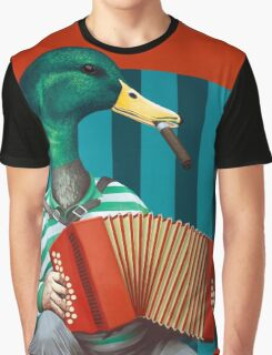 Accordion To This Graphic T-Shirt