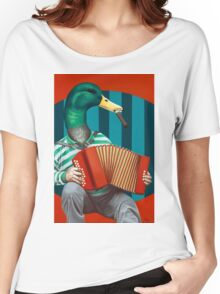 Accordion To This Women's Relaxed Fit T-Shirt