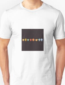 Planet Art Vector Unisex T-Shirt