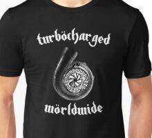 Turbocharged Worldwide - White Unisex T-Shirt