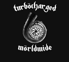Turbocharged Worldwide - White Unisex T-Shirt