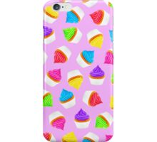 Cupcakes Purple iPhone Case/Skin