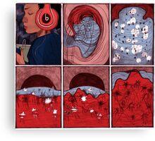 Drown Sound Canvas Print